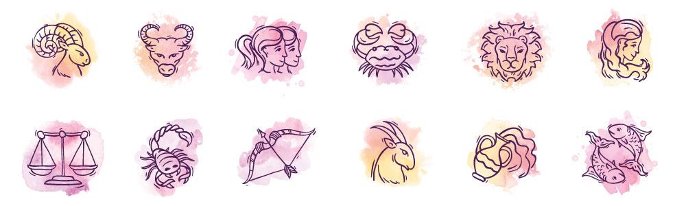 Signe zodiaque - Cristal de roche